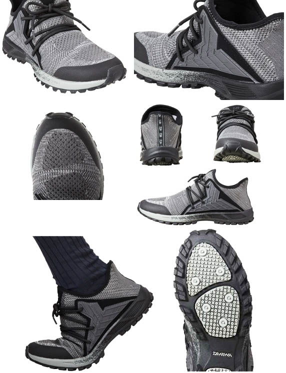 DAIWA DL-23000K KNIT UPPER SHOES / Gray 28cm_Image2