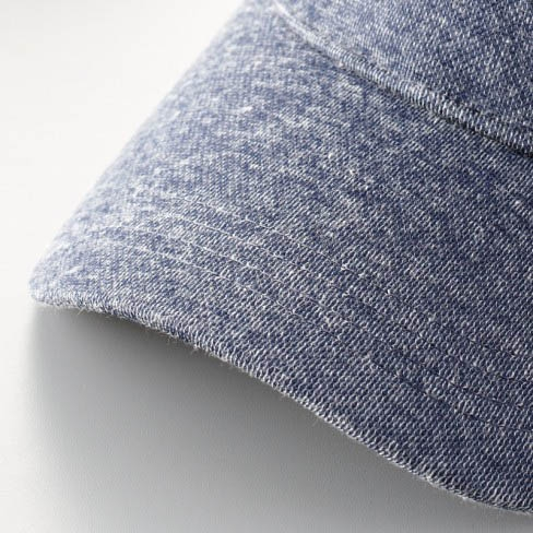 Denim-like sweat material