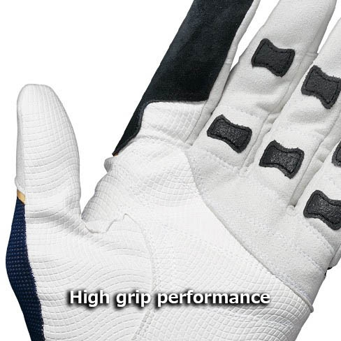 SHIMANO OCEA Big Game Support Glove White Navy-L_Image4