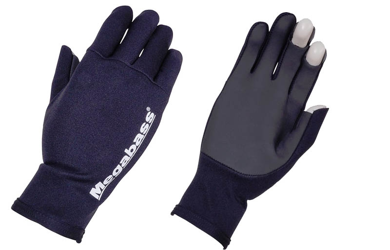 MEGABASS Ti GLOVE Black/Orange XL_Image1