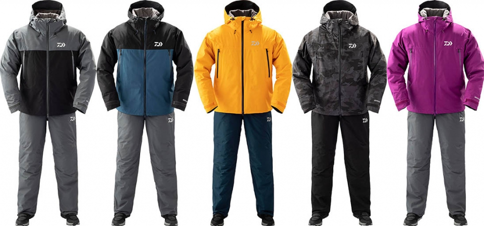 DAIWA DW-1909 Gore-Tex Product Winter Suit MUSTARD-M_Image3