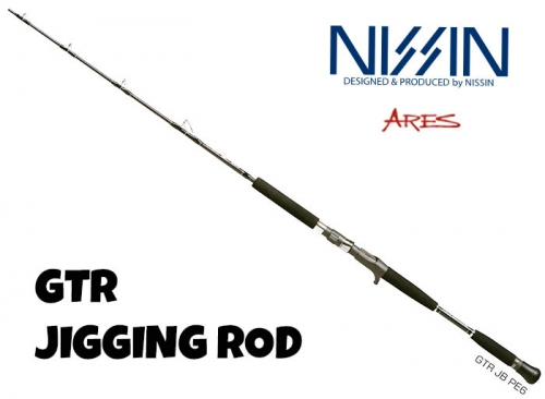 50%OFF NISSIN ARES GTR JIGGING ROD