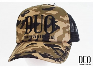 DUO LOGO MESH CAP (EMBROIDERY)