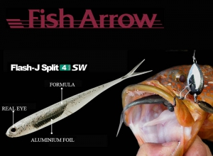 Fish Arrow Flash J Split SW