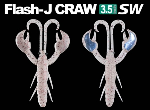 Fish Arrow Flash J CRAW 3.5 SW