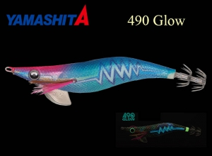 YAMASHITA EGI OH Q LIVE SEARCH 490 GLOW New Color