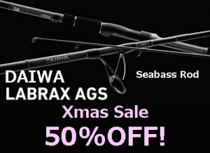 50%OFF! DAIWA LABRAX AGS BS63MS Spinning Model