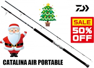 50%OFF DAIWA CATALINA AIR PORTABLE C74MS