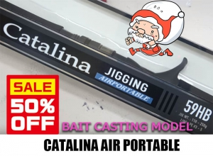 50%OFF DAIWA CATALINA AIR PORTABLE J59HB