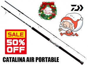 50%OFF DAIWA CATALINA AIR PORTABLE 63MHS