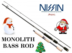 50%OFF NISSIN ARES MONOLITH 702L BASS ROD