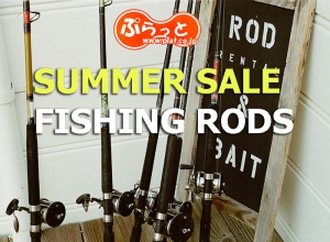 2019 Summer sale Rods