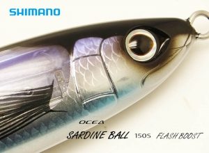 SHIMANO OCEA SARDINE BALL 150S FLASH BOOST