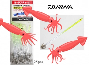 77%OFF DAIWA MID STICK 11 SPIRAL 25pcs