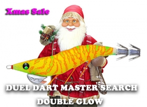 20 Xmas sale DUEL DART MASTER SEARCH DOUBLE GLOW