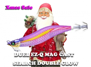 20 Xmas sale DUEL EZ-Q MAG CAST SEARCH DOUBLE GLOW