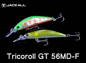 JACKALL Tricoroll Trout lures