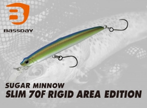 BASSDAY SUGAR MINNOW SLIM 70F RIGID AREA