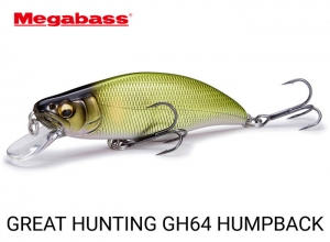 MEGABASS GREAT HUNTING HUMPBACK