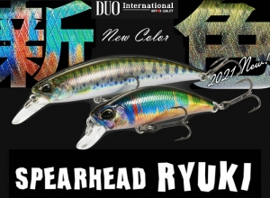 DUO SPEARHEAD RYUKI Trout Lure Series