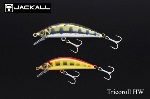 JACKALL Tricoroll HW Trout Lure
