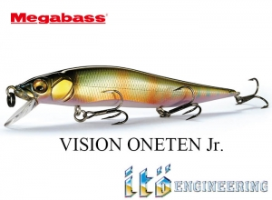 MEGABASS VISION ONETEN Jr. New Colors
