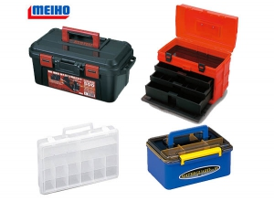 TACKLE BOX WITH HANDLE