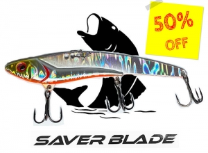 50%OFF! SAVER BLADE 14g Full Silver