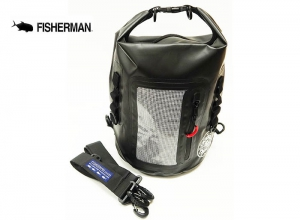 FISHERMAN WATERPROOF BAG 8L Black