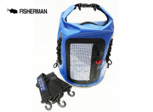 FISHERMAN WATERPROOF BAG 8L Blue
