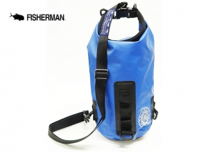FISHERMAN WATERPROOF BAG MINI 3L Blue