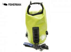 FISHERMAN WATERPROOF BAG MINI 3L Green
