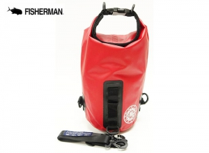 FISHERMAN WATERPROOF BAG MINI 3L Red