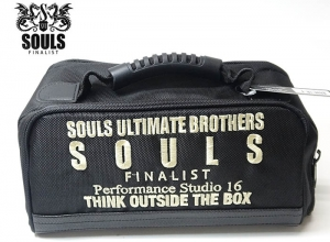 SOULS REEL BAG Black/Gold