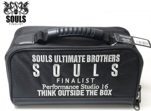 SOULS REEL BAG Black/Silver