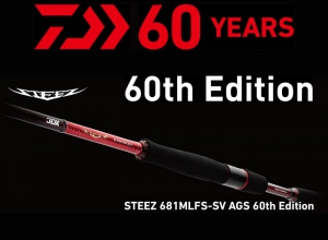 DAIWA STEEZ 681MLFS-SV AGS 60th Edition(reservation)