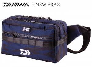 NEW ERA SQUARE WAIST BAG / Tiger Stripe  Camouflage Navy