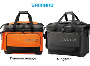 SHIMANO XEFO ROCK TRAVERSE BAG 36L Traverse Orange