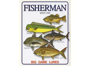 FISHERMAN Sticker-11