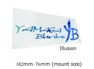 19 YAMAGA BLANKS CUTTING STICKER Illusion