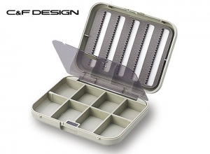 C&F DESIGN CF-1306 Small 5-Row Fly Case