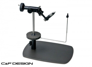 C&F DESIGN CFT-9000 BK Black Reference Pedestal Fly Tying Vise