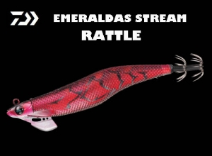Garage Sale DAIWA EMERALDAS STREAM RATTLE 3.5 Red-R-Shrimp