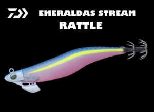 Garage Sale DAIWA EMERALDAS STREAM RATTLE 3.5 Glow Gurukun