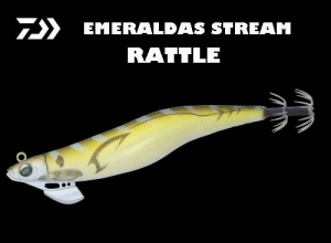 Garage Sale DAIWA EMERALDAS STREAM RATTLE 3.5 Gold G Aji