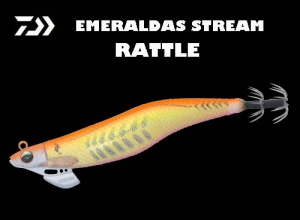 Garage Sale DAIWA EMERALDAS STREAM RATTLE 3.5 Gold O Aji