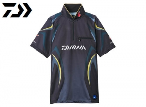 Xmas Sale DAIWA Special Ice Dry Zip Up Mesh Shirt/Master Black-2XL