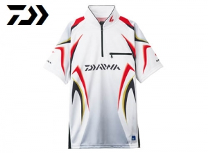 Xmas Sale DAIWA Special Ice Dry Zip Up Mesh Shirt/White-2XL