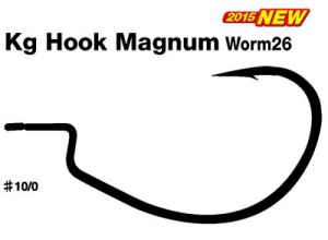 DECOY Kg Hook Magnum Worm26 #10/0
