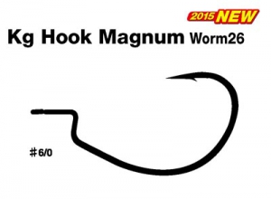 DECOY Kg Hook Magnum Worm26 #6/0
